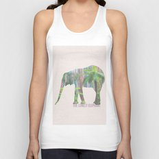 The Lonely Elephant Unisex Tank Top