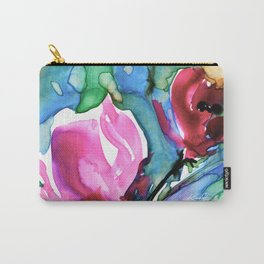 Floral 9 by Kathy Morton Stanion Carry-All Pouch