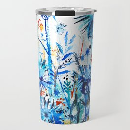 thickets of cornflowers Travel Mug