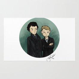 Sherlock & Watson Rug