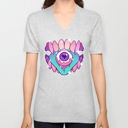 Eye Candy (textless) Unisex V-Neck