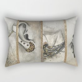 La Mode Bijoux Rectangular Pillow