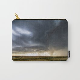 Storm Season - Thunderstorm Takes Shape in Northern Kansas Carry-All Pouch