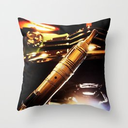 The Long Day Throw Pillow