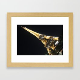 Paris, France - Eiffel Tower Framed Art Print