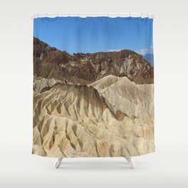 The Badlands Of Death Valley Shower Curtain