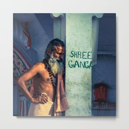 Shree Ganga Metal Print