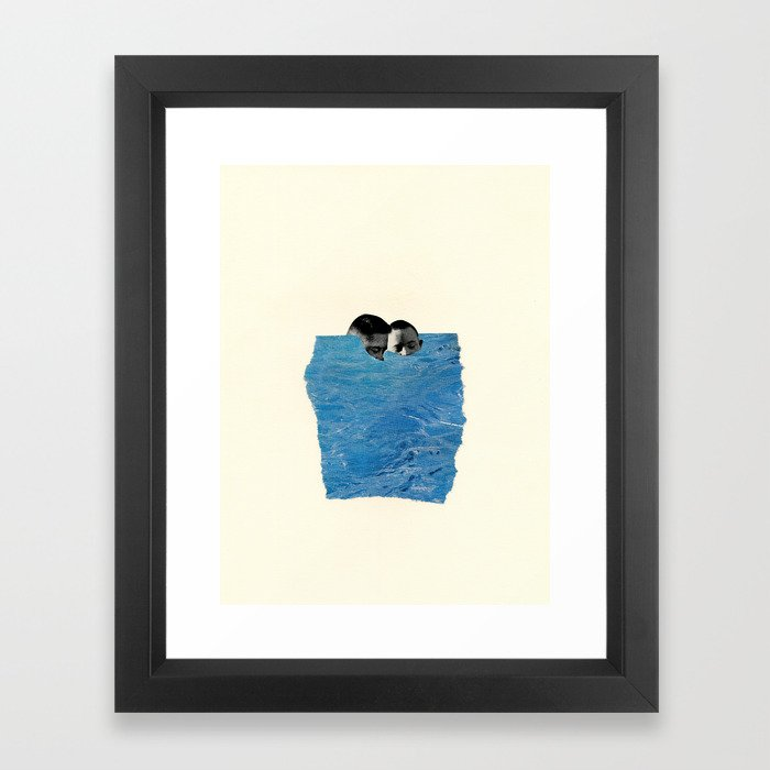 Body of Water Gerahmter Kunstdruck