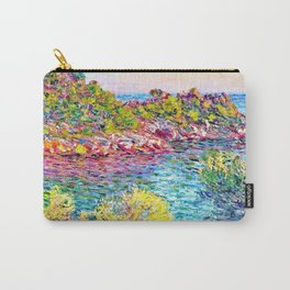 Landscape near Montecarlo - Claude Monet Carry-All Pouch
