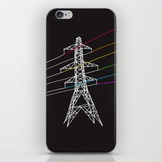 The Dark Side of Electricity iPhone & iPod Skin
