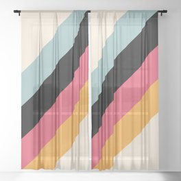 Classic Retro Hariasa Sheer Curtain