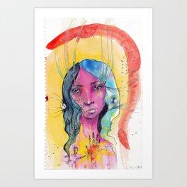 I Was Awake Art Print