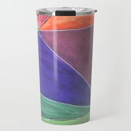 Inverted Color Study Travel Mug