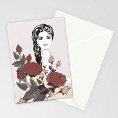 Virgo Lady | Zodiac Sign | Horoscope Art | September Stationery Cards