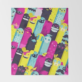 Monster Mash // Pattern Throw Blanket