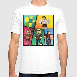 Roblox heroes T-shirt