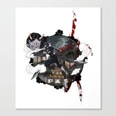 Kunoichi 3 of 4 Canvas Print