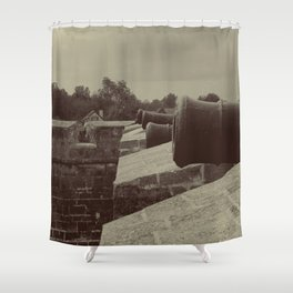 Defend The Fort! Shower Curtain