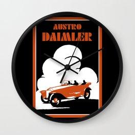 Austro-Daimler classic car Wall Clock
