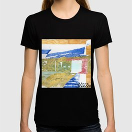 Abstract Building Green T-shirt