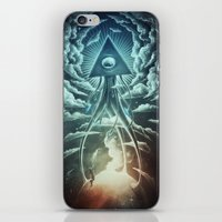 war iPhone & iPod Skins featuring War Of The Worlds I. by Dr. Lukas Brezak