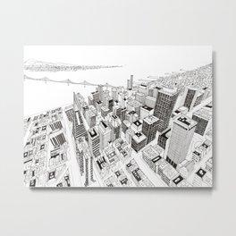 San Francisco 2 Metal Print