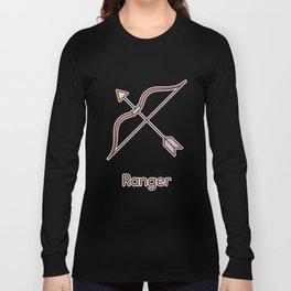 Cute Dungeons and Dragons Ranger class Long Sleeve T-shirt