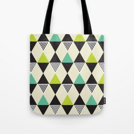 Geometric Pattern 48 (Mid-century) Tote Bag