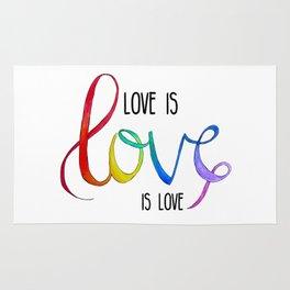 Love is Love is Love Rug