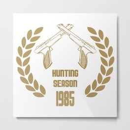 THE HUNTING SEASON 1985 - NINTENDO NES ZAPPER Metal Print