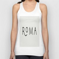 rome Tank Tops featuring rome by LA creation