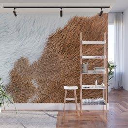 Cow Hide Print Pattern Wall Mural