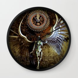 The Last Shadow Of Time Wall Clock