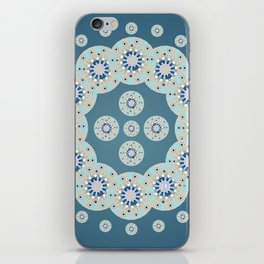 Circles mandala iPhone Skin