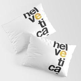 Helvetica Typoster #1 Pillow Sham