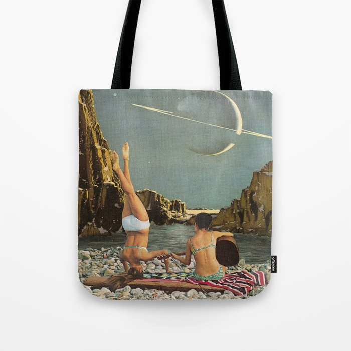 Serenade to Saturn Tote Bag