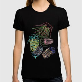 Silurian and Devonian Era Trilobites T-shirt