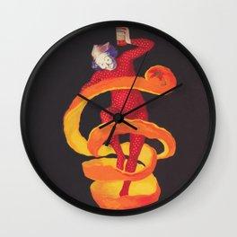 Bitter Campari Vintage Beverage Poster Wall Clock