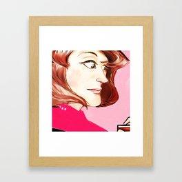 Captain Janeway Framed Art Print