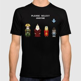 Avatar Selection Screen T-shirt