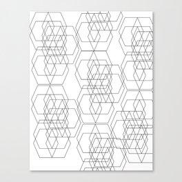 Geometry Layered Canvas Print