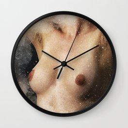Free the Nipple Watercolor Wall Clock