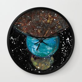 Planets Align Wall Clock