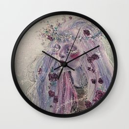 """Winters Bloom"" Wall Clock"