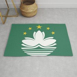 Macau flag emblem Rug