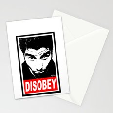 Disobey Chino Stationery Cards