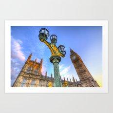 Houses Of Parliament London Art Print
