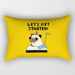 PUG! Rectangular Pillow