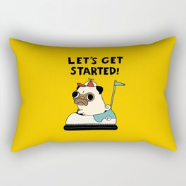 PUG! Rectangular Pillow