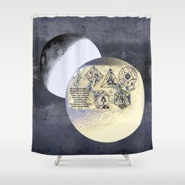 Kepler and his machinations Shower Curtain